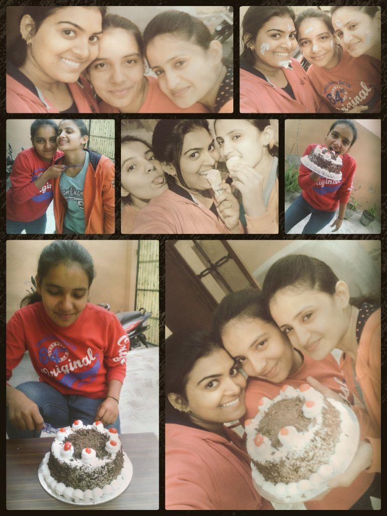 Pooja Yadav On Twitter Its One Of My Besty Birthday Lots Of