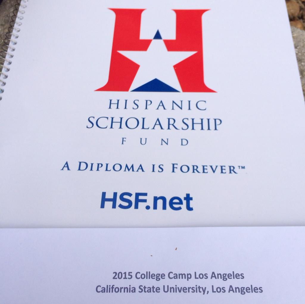Big @HSFnews #CollegeCamp today @CalStateLA https://t.co/pR5bLyEvot cc @HispanicEd @LATISM @Hispanicize http://t.co/vi8DsQXAeU