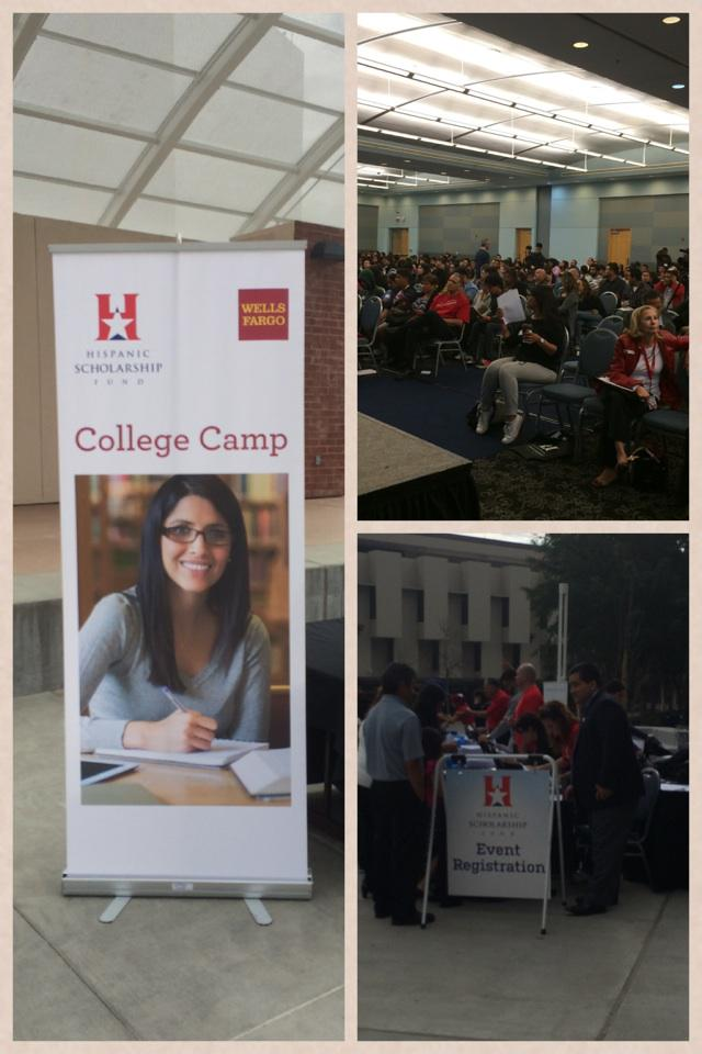 @HSFNews @CalStateLA #collegecampLA getting ready to start!!! Great day to help stu http://t.co/gn5Va07NyO http://t.co/FAMcNgxSSW
