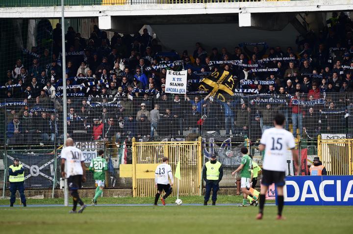 Ristovski controls the ball vs. Avellino