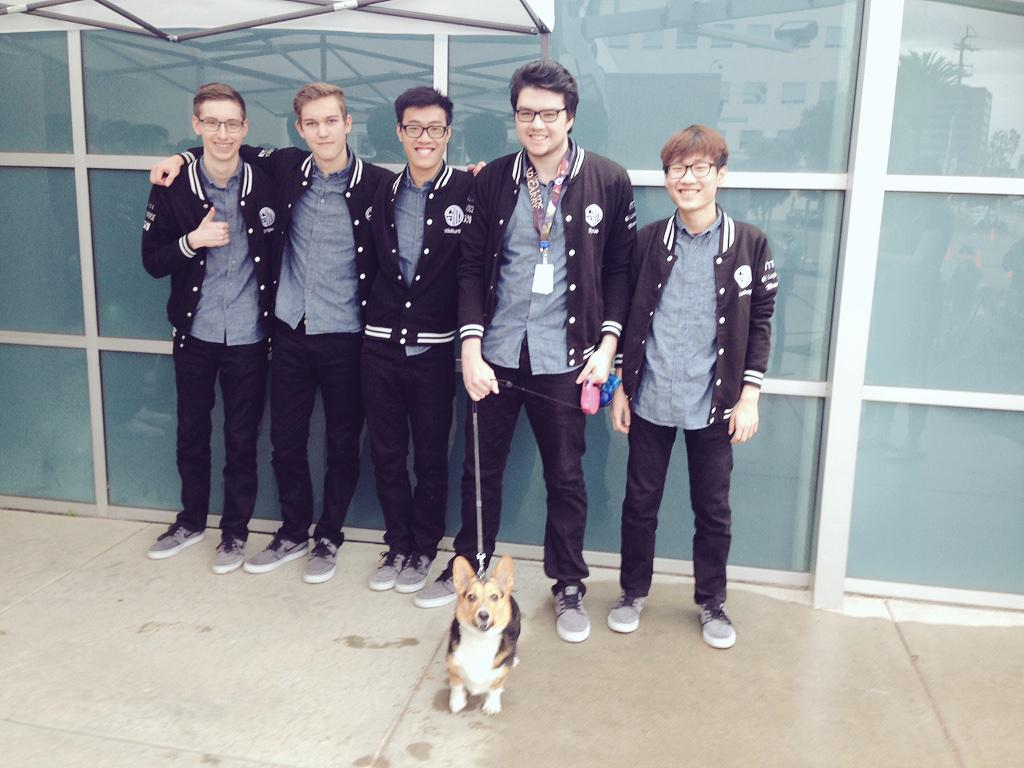 Cutest @TeamSoloMid fangirl ever! #LCS @lolesports http://t.co/QmxbkeOJhS