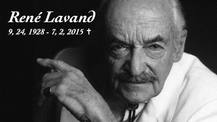 Today a true legend in Magic passed away.  One-handed Magician René Lavand died at the age of 86.  #Magic http://t.co/AAWUxnmvXd