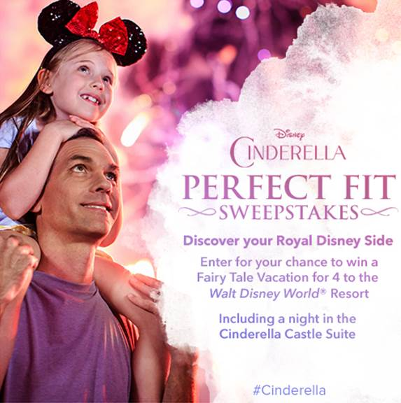 #Cinderella Travel Sweepstakes