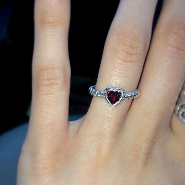 James Avery Artisan Jewelry On Twitter The Heart With Garnet Twisted Wire Ring Is An Artfully Crafted Expression Of Love Http T Co 1dkfvegrvm Http T Co Quvdlkf3mj