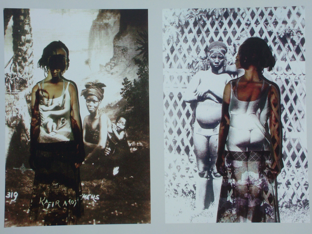 Artist Nomusa Makhubu disrupts colonial history's documentation of East & South African women. http://t.co/VkYjYF2dVj http://t.co/ior2KNW29L
