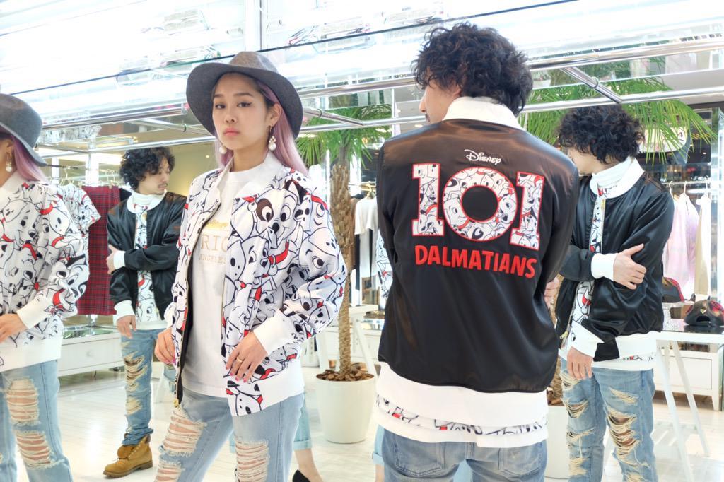 Harajuku store Exclusive【 101 Dalmatian Reverse Jkt 】XS , S , M , L , XL / WHITE×BLACK / ¥29,800-(+TAX) #JOYRICH