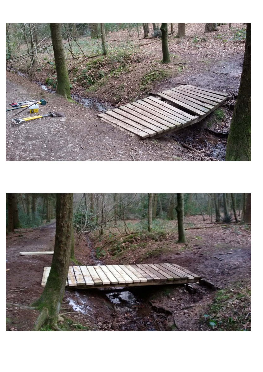 "Lickey Hills on Twitter: ""Lickey Hills bridge repairs. Rangers ..."