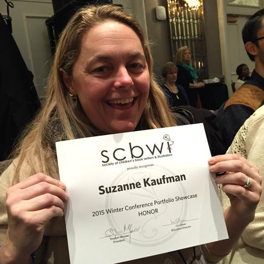 Congrats to my pal @lilmonkeydraws on winning the Honor Award at #NY15SCBWI Portfolio Showcase!!! http://t.co/RHwqwOXMAV