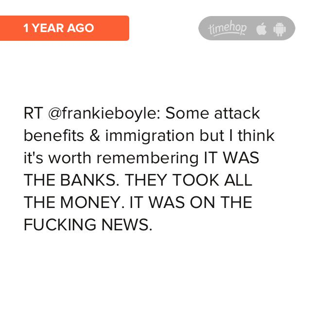 RT @LeglessDean: Look at what was in my @timehop! @frankieboyle http://t.co/lLvELzpmDT http://t.co/rJ7bjmUFwd