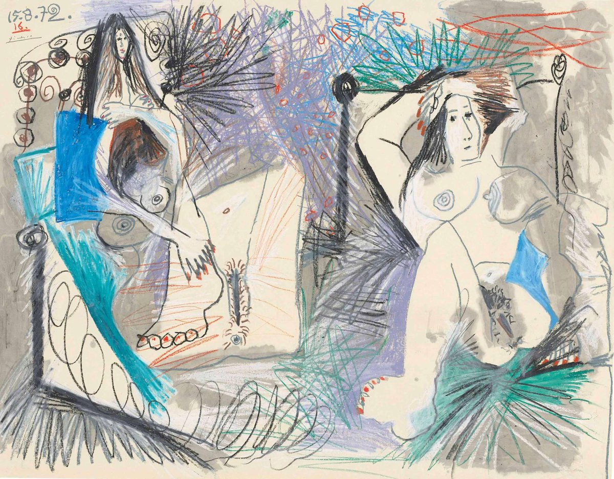 """#TEFAF2015 #Modern includes major names – Picasso to Kirchner and is always open to the """"new"""" http://t.co/ACUJWCCyXK http://t.co/0kajQofan2"""