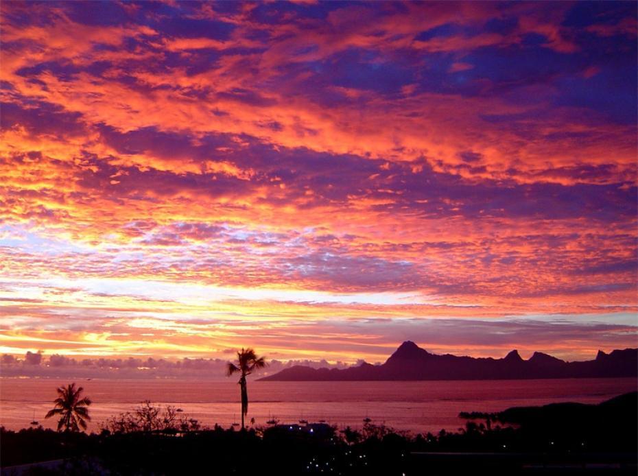 Lobservateur on twitter radiolondres doubs beau coucher de soleil ro - Coucher de soleil rose ...
