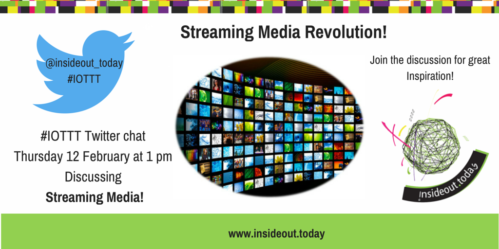 Thumbnail for #IOTTT streaming Media Revolution Twitter Chat