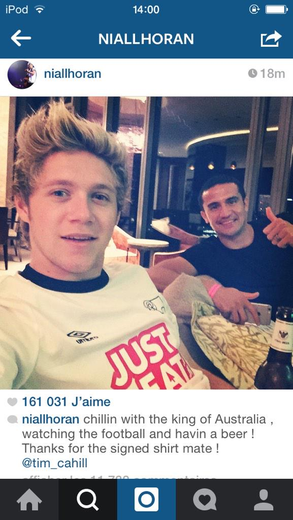 one direction france on twitter niall a post cette photo sur instagram s. Black Bedroom Furniture Sets. Home Design Ideas