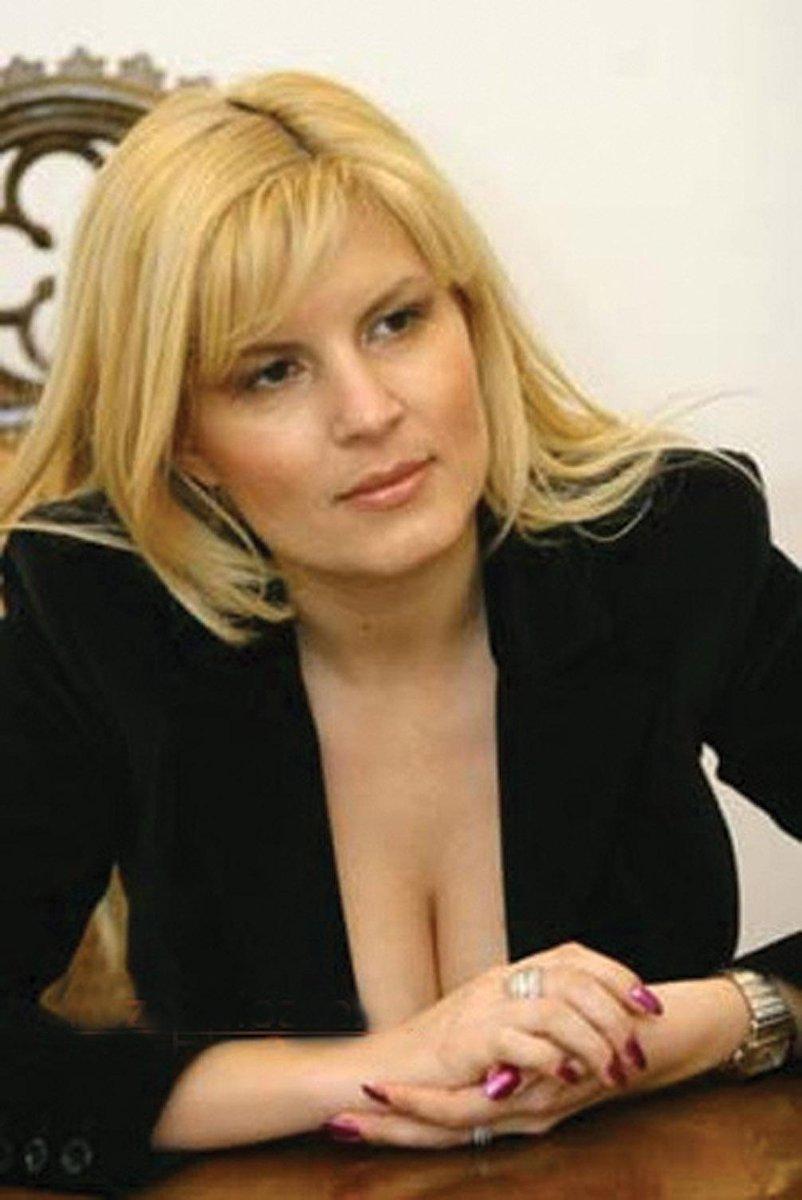Fotos de Elena Udrea a candidata a presidente mais sexy da Romênia