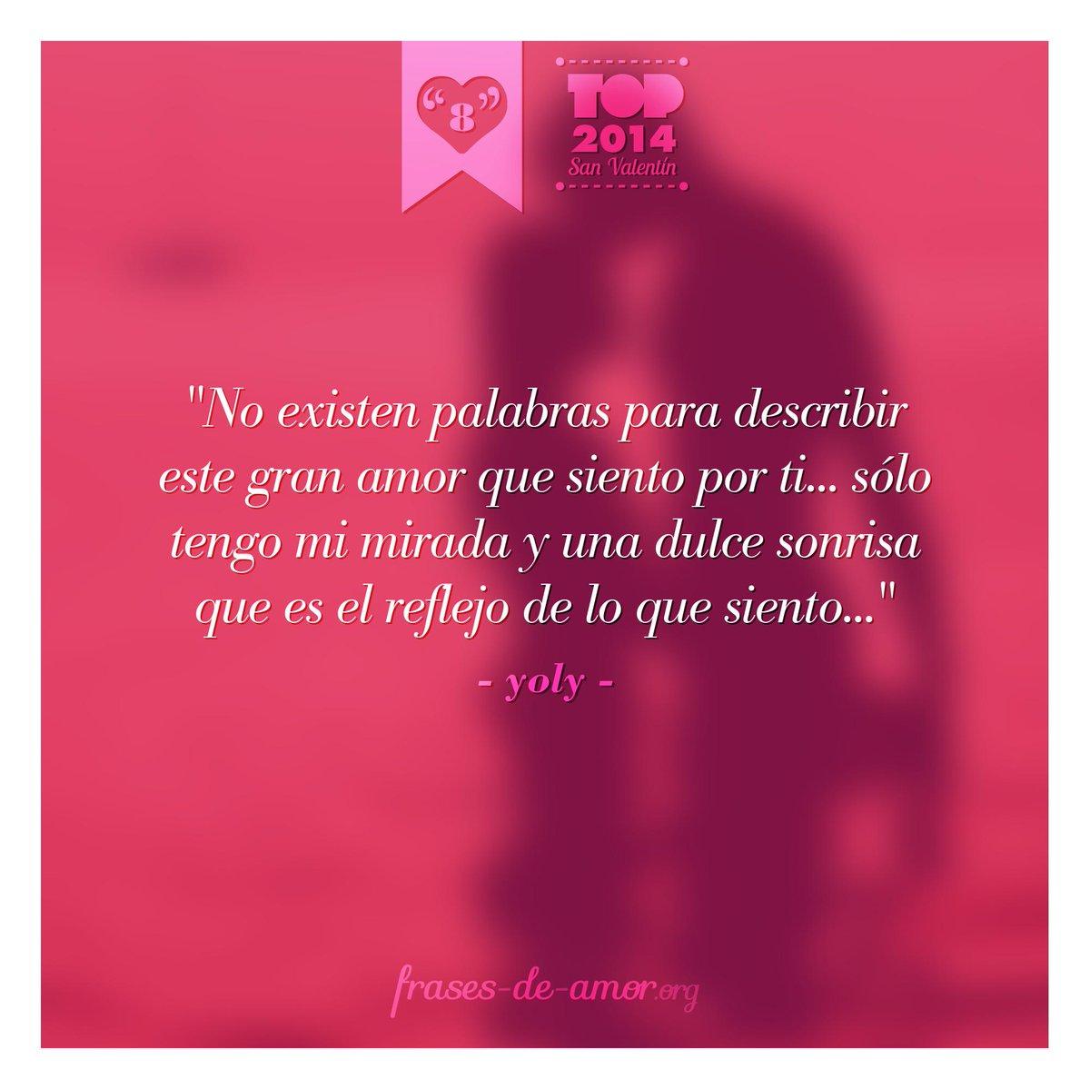 Frases De Amor On Twitter Top 2014 Especial Sanvalentin