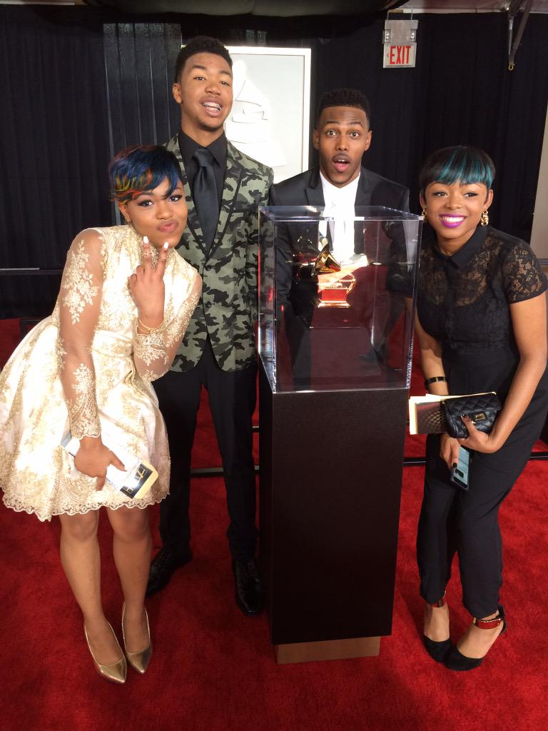 Honored to be on the red carpet.  Humbling experience.  Thank u Grammy Awards. http://t.co/LGlNMS5M3O