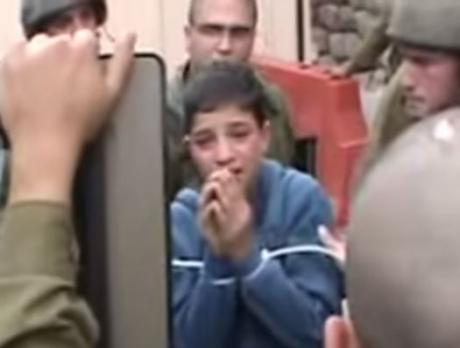 Israeli soldiers deliberately terrorize Palestinian children in their custody #Occupation http://t.co/EqZ7J8s0JG http://t.co/jF2tP539DL