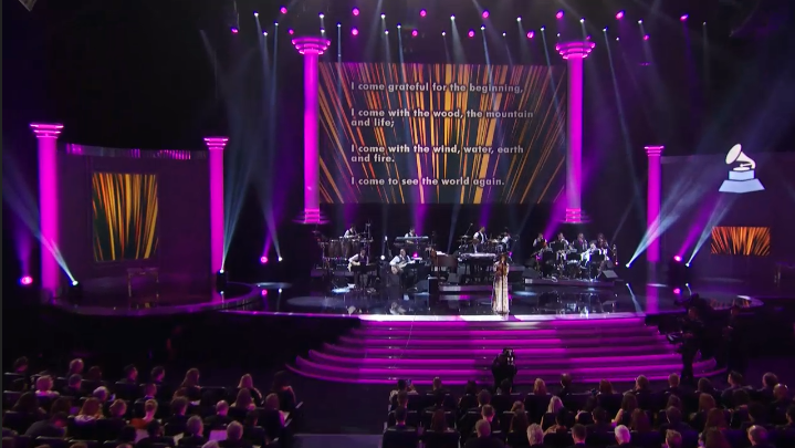 .@anatijoux great performance at @TheGRAMMYs! #GRAMMYs #VENGO http://t.co/UM1CGVOKfK