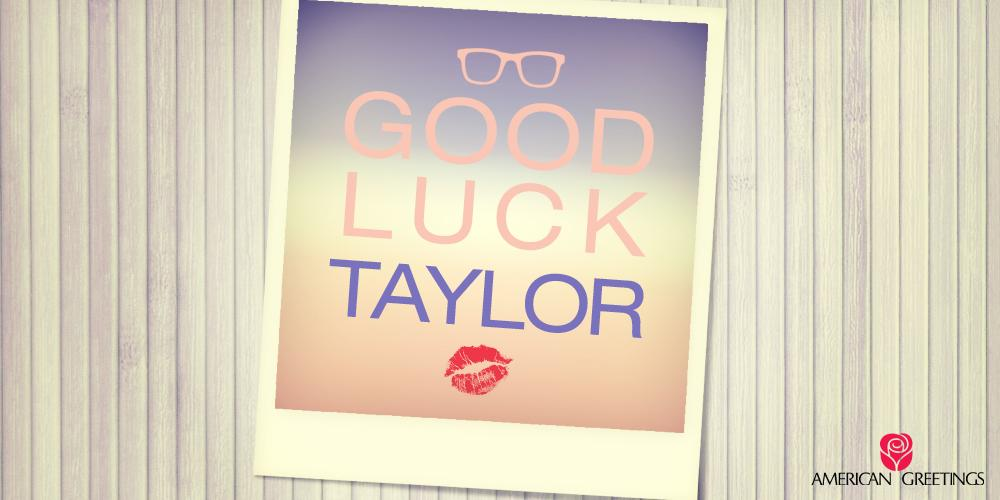 Wishing our dear friend, @taylorswift13 the best of luck tonight at the @TheGRAMMYs ! #Swifties #ERedCarpet #Grammys http://t.co/oVSTnZiTWC