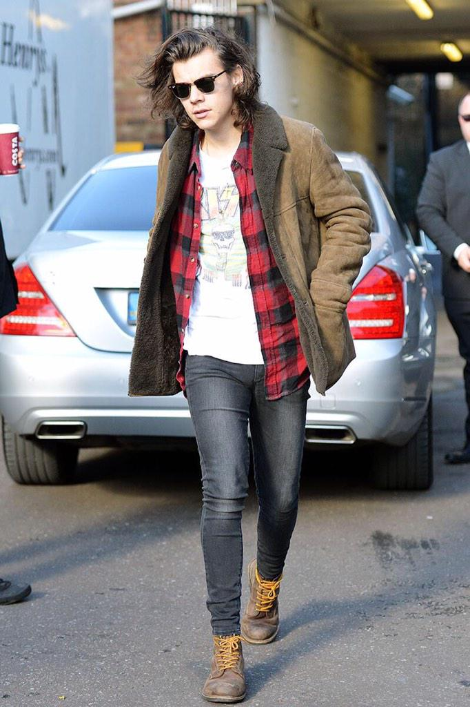 Outfit Goals On Twitter Quot Harry Styles Street Style Http T Co Yba4owbzai Quot