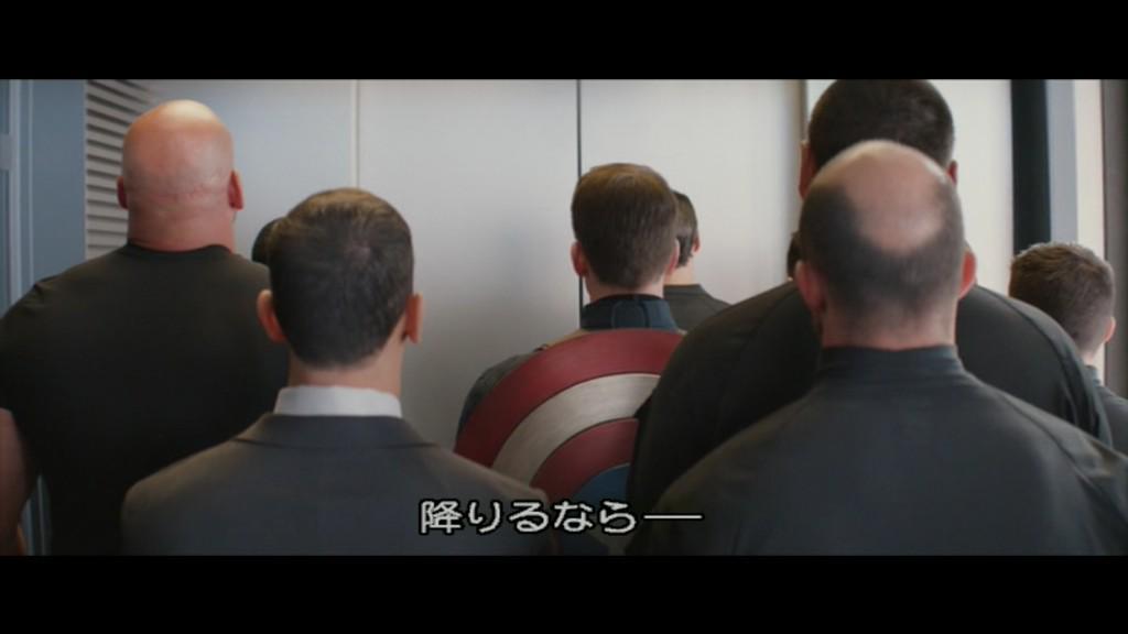 複数人のオタクでエレベーターに乗るときに必ずやってしまうと噂のウィンターソルジャーごっこ http://t.co/IvT8Z7aznB