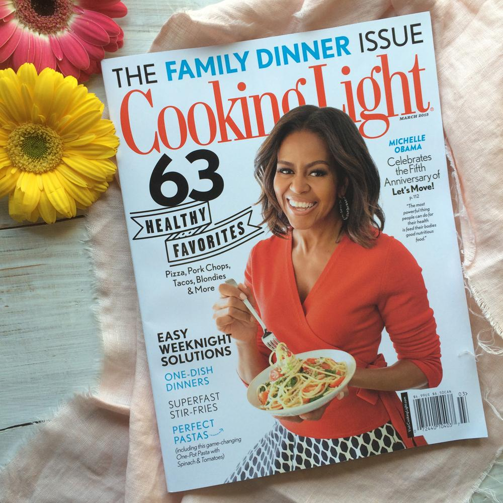 Introducing our March 2015 issue, featuring the First Lady of Food, @FLOTUS, on the cover: http://t.co/doqyHES8LH http://t.co/LpzBPLv4N2
