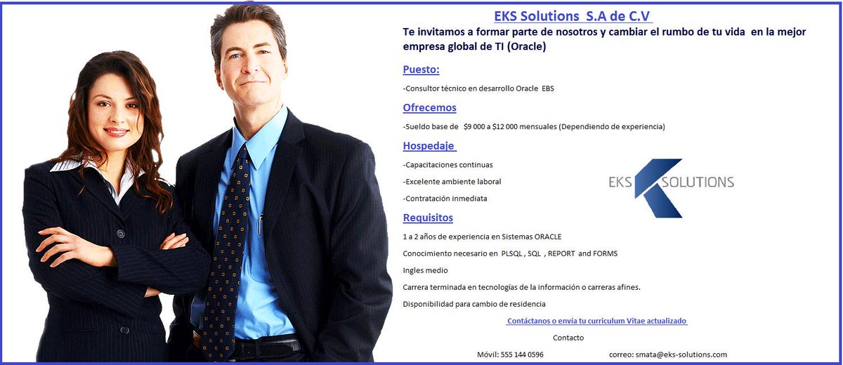 EKS Solutions Oracle (@EksSolutions) | Twitter