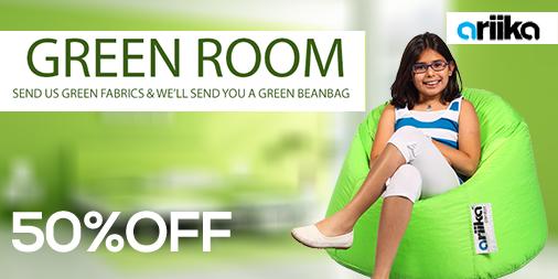 Green room!Send us fabrics and will send you a bean bag. http://t.co/1I9Jw8FFvB #Ariika #BeanBags #Comfort #Quality http://t.co/L09dyDgfiU