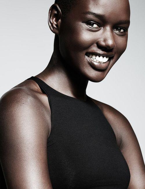 Ngoza Ngoza On Twitter Dark Skinned Women With Extra Short Hair