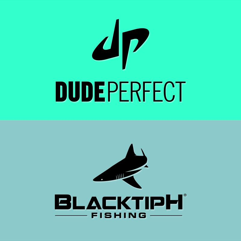Blacktiph on twitter filming a shark fishing battle with for Dude perfect logo wallpaper