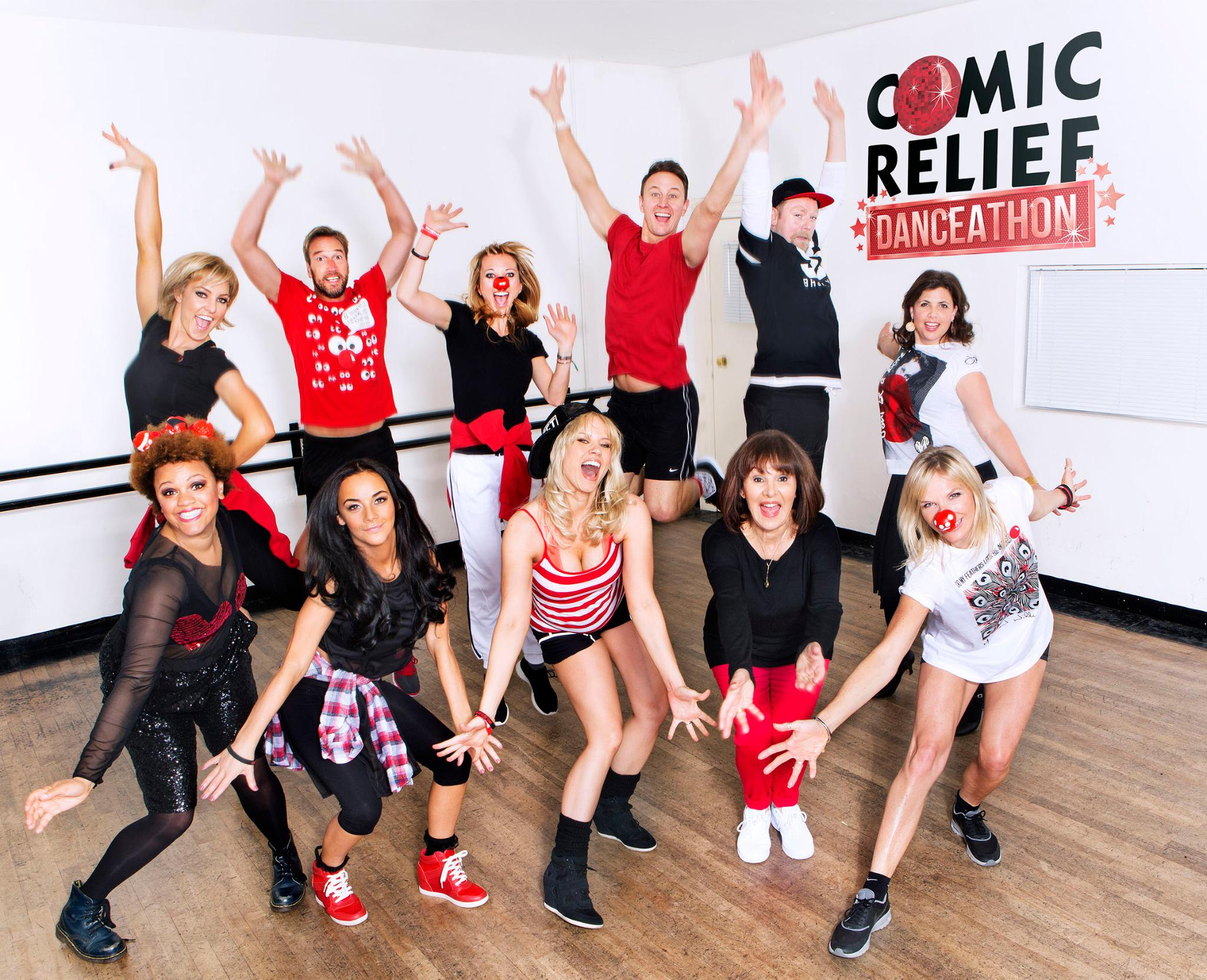 Join me in the first ever @rednoseday #danceathon on 8th March at Wembley Arena http://t.co/1qW6B0dlWK WHO'S IN?! http://t.co/ggO0agw0xf