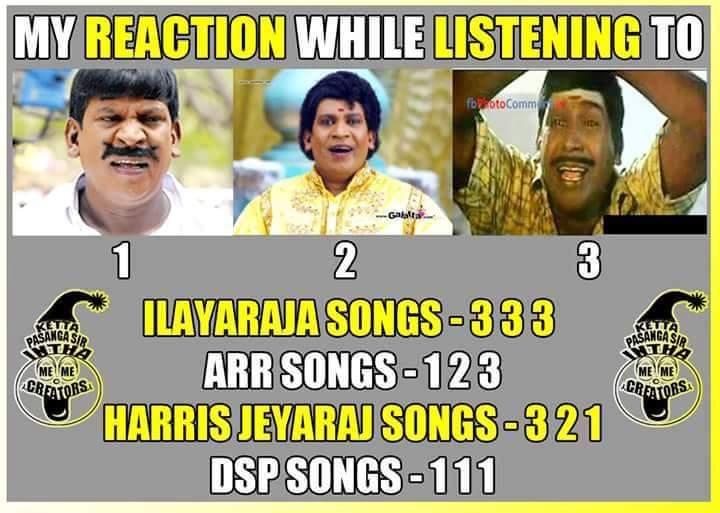 இசை 4 வகைப்படும்! அவை... #ராஜா #ரகுமான் ;> http://t.co/XRW2AcHf7V