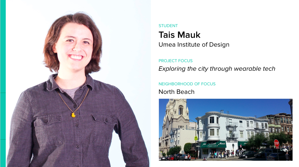 Student profile: @TaisMauk is making magic today as part of the #ixd15 #wearablecity Student Design Challenge. http://t.co/oRffrhmd3C