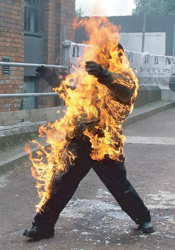 Fat People On Fire