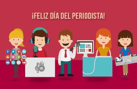 """""""El periodismo es el mejor oficio del mundo"""" (Gabo) #FelizDíaDelPeriodista a todos los comunicadores colombianos! http://t.co/nqXN3LEkF1"""