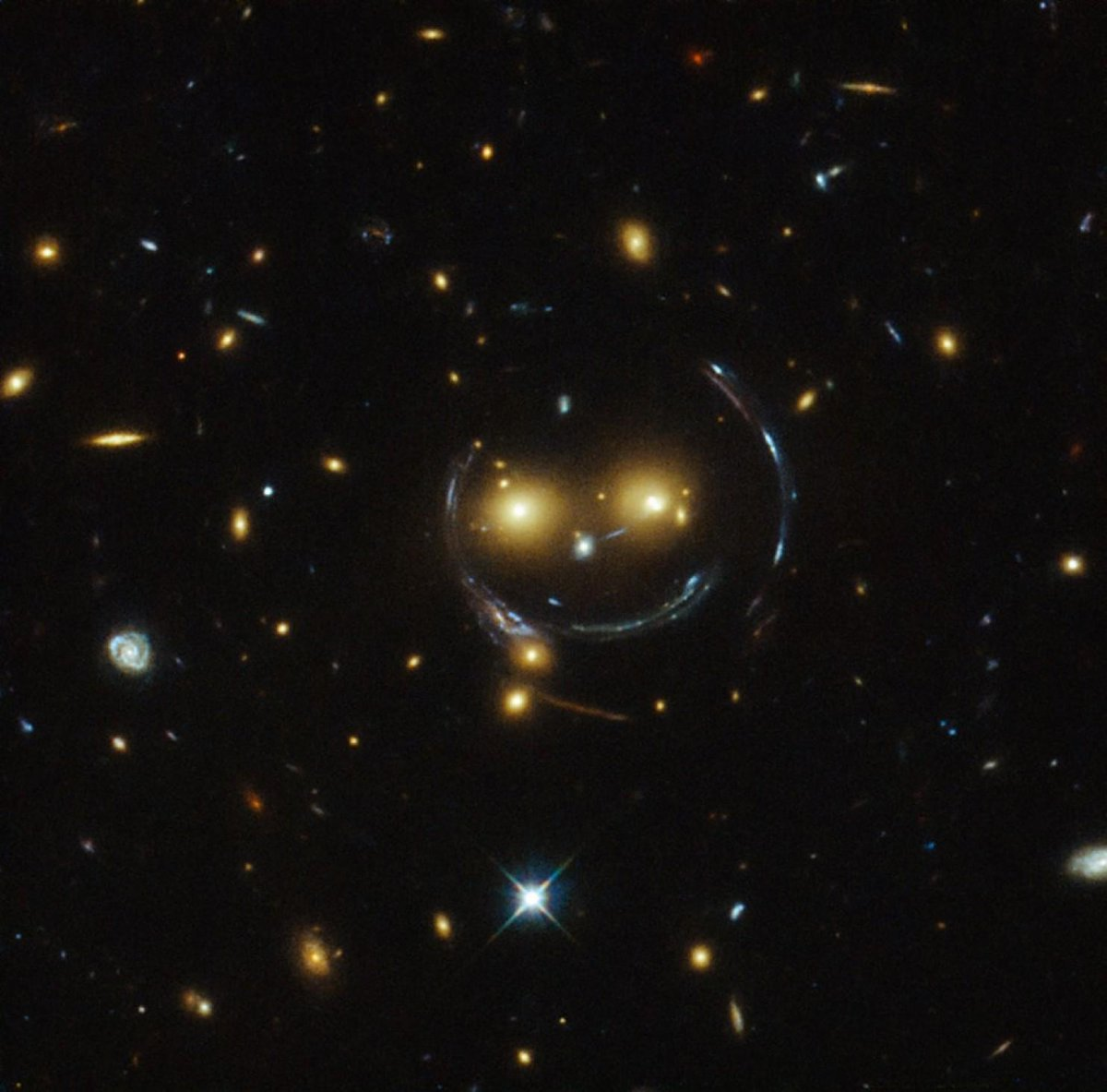 Look what the Hubble Telescope found!