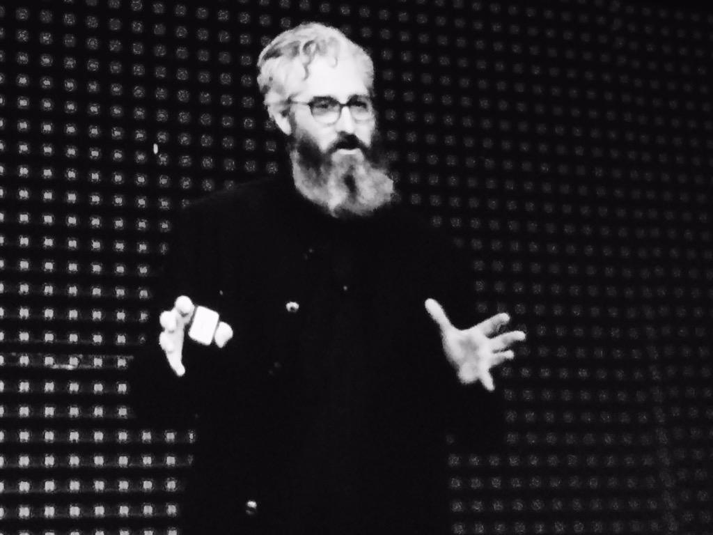 """""""The engineers and designers in this room are the ones who will literally make the future."""" @bre #SWW15 http://t.co/vWfwNcTBzY"""