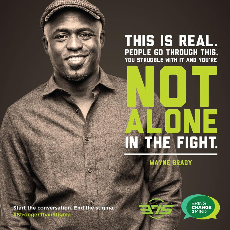 """You're not alone in the fight."" @waynebrady #StrongerThanStigma @PROJECT375 http://t.co/qLthspA4np"