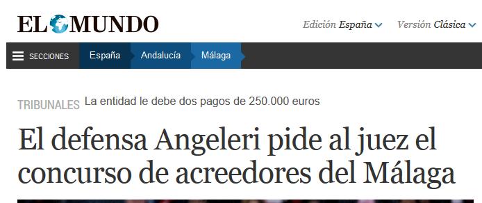 El Málaga cf sigue con los impagos. B9bSrlSIcAAqINb