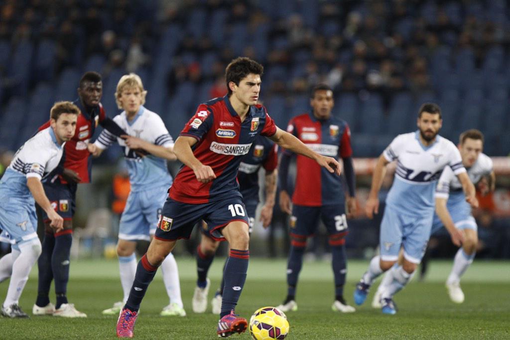 VIDEO Lazio 0-1 Genoa gol highlights Serie A, Perotti su calcio di rigore