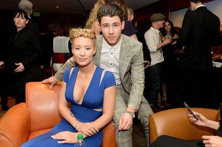 IGGY & Nick are looking SO FANCY at the #GRAMMYs last night. Here April 16 #TheGreatEscapeTour http://t.co/JpPhFYvsWp http://t.co/8QTAkrjel4