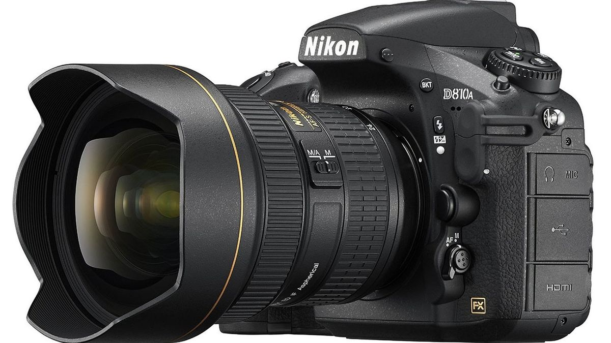 Nikon's D810A is the first full-frame DSLR designed for astrophotography