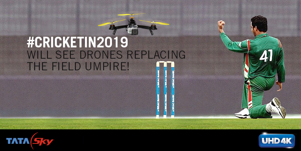 What's your take on #CricketIn2019? Tweet & win a Tata Sky 4K connection! http://t.co/mGF2TcES75 http://t.co/QFYu9KM2so
