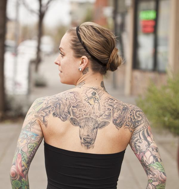 The girl with the goat tattoo! #ReplaceAMovieTitleWithGoat http://t.co/4zcw3jkrbW