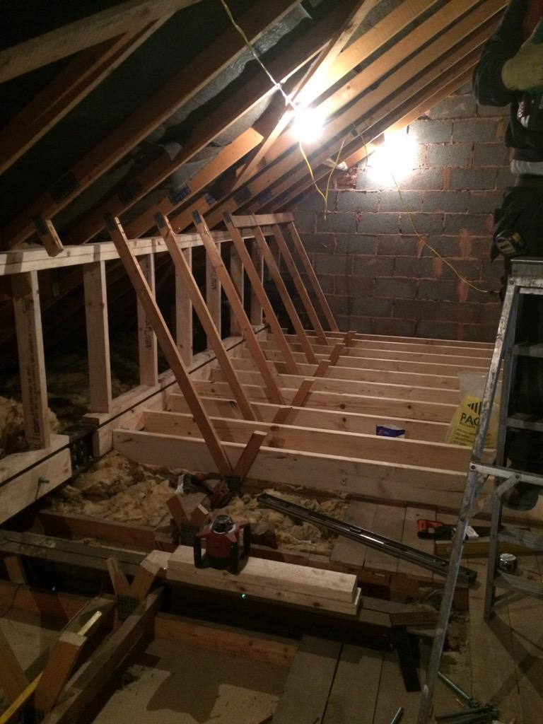 J Woodward Building On Twitter Quot Truss Roof Loft