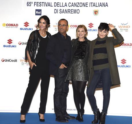 Sanremo 2015: al via la 65a edizione del Festival, diretta tv streaming su Rai 1