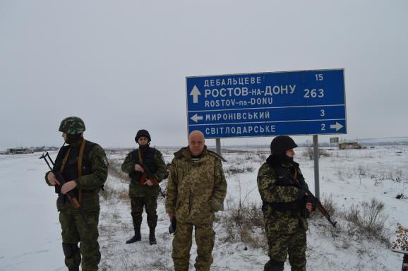 Вчера террористы обстреляли пять населенных пунктов под Мариуполем, - Штаб обороны города - Цензор.НЕТ 3448
