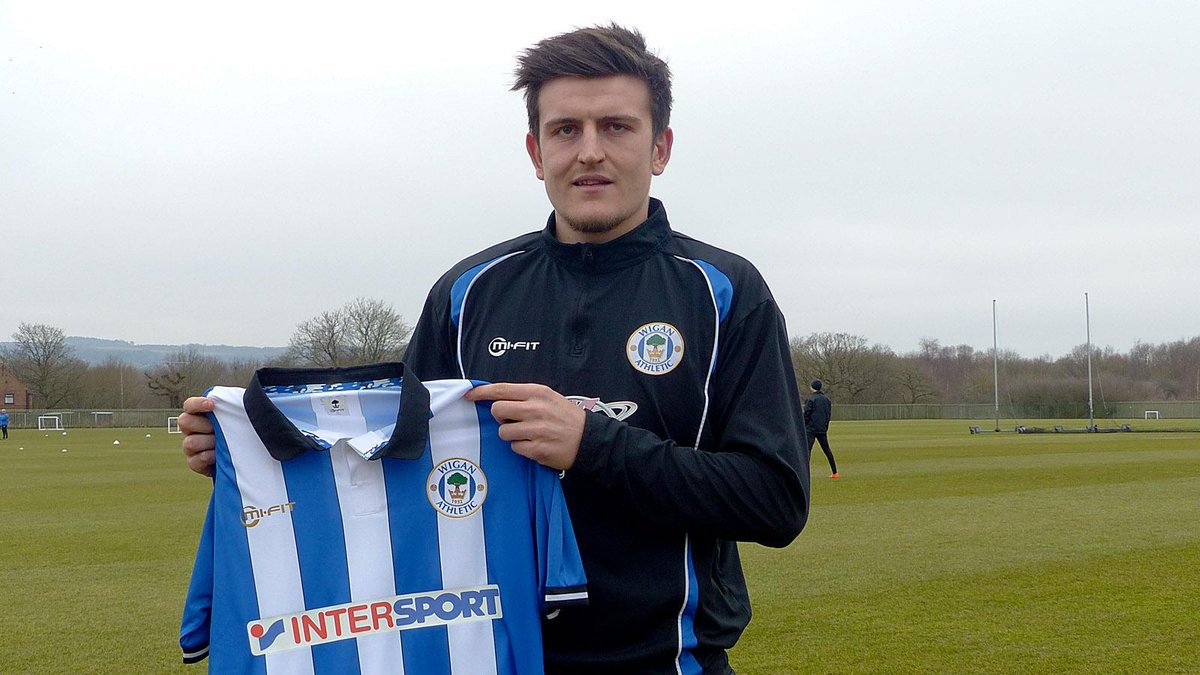 """Wigan Athletic on Twitter: """"CONFIRMED: Harry Maguire signs on a short term  loan from @HullCity - http://t.co/Fwfig5hPnW #wafc http://t.co/S8yJa1YSR6"""""""