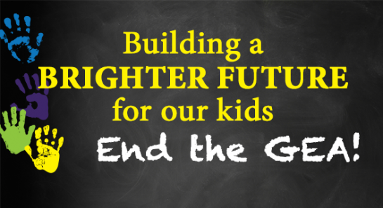 The #NYSenate Majority wants the budget to return $1 billion to schools. #EndTheGEA this year. http://t.co/691LqsT0rI http://t.co/GkA96nox5Y