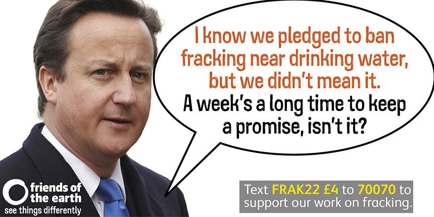 The Government's fiddling with the  #fracking law to remove protection for drinking water: http://t.co/2jwOL4yGK2 http://t.co/vH4pNMXvWu